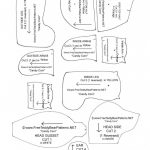 Free Teddy Bear Patterns Printable | Free Printable   Free Teddy Bear Patterns Printable
