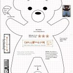 Free #teddybear #plush #toy Pattern @ Chellywood – Chellywood   Free Printable Teddy Bear Clothes Patterns