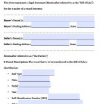Free Texas Boat Bill Of Sale Form | Pdf | Word (.doc)   Free Printable Texas Bill Of Sale Form