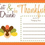 Free Thanksgiving Printables From The Party Bakery | Free Printables   Free Printable Thanksgiving Cards