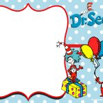 Free Thing 1 And Thing 2 Dr. Seuss Invitation | Free Printable   Dr Seuss Free Printable Templates