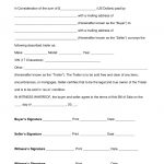 Free Trailer Bill Of Sale Form   Word | Pdf | Eforms – Free Fillable   Free Printable Texas Bill Of Sale Form