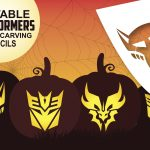 Free Transformer Pumpkin Carving Stencils | Costume Supercenter Blog   Free Printable Pumpkin Carving Stencils