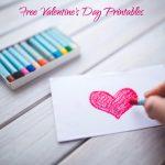 Free Valentine's Day Printables   Make Breaks   Free Printable Valentine's Day Stencils