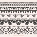 Free Vector Lace Vector Borders | Paint Plpatt/mud 25 | Pinterest   Free Printable Lace Stencil