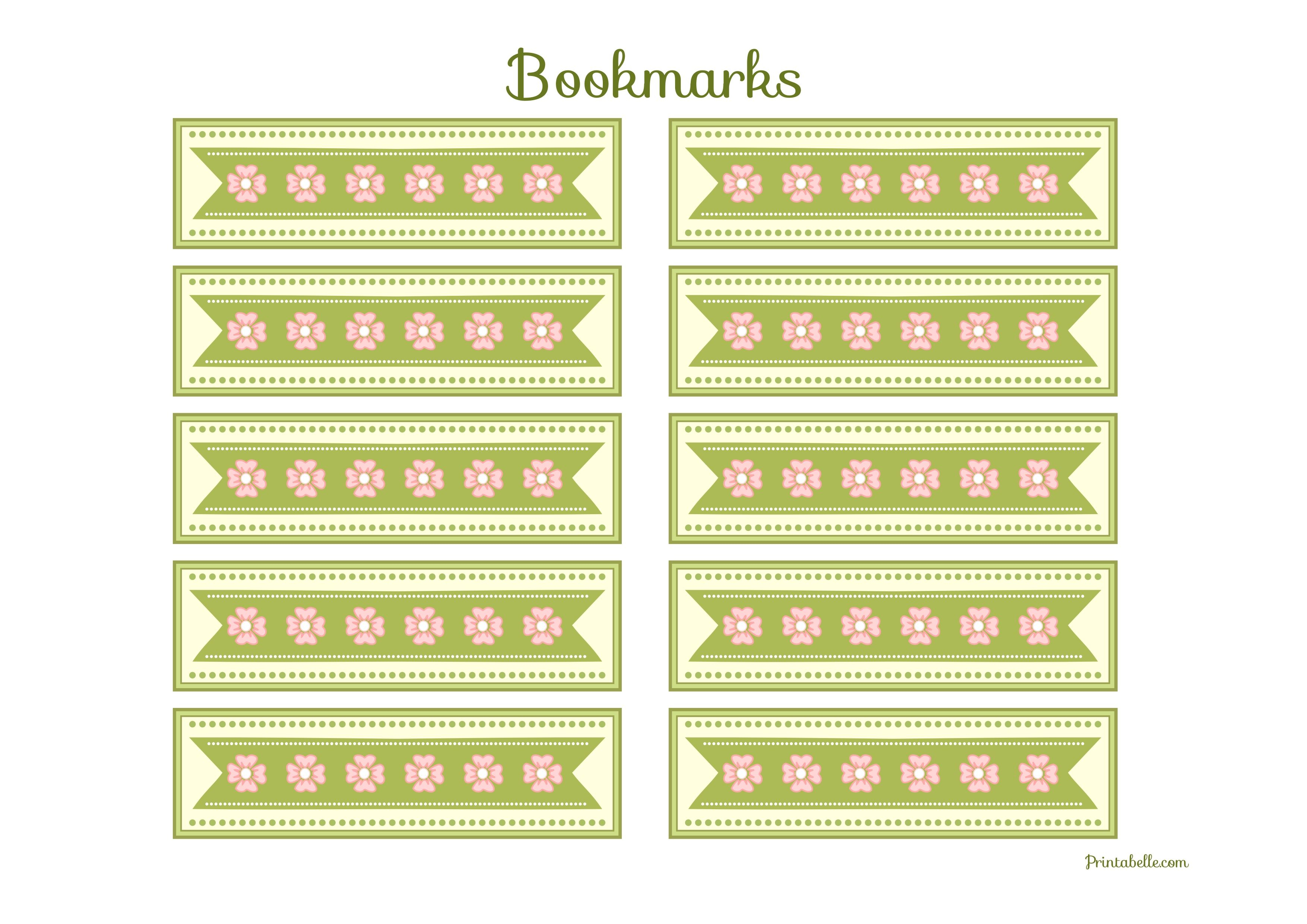 Free Vintage Baby Shower Printables From Printabelle | Vintage Baby - Free Printable Baby Bookmarks