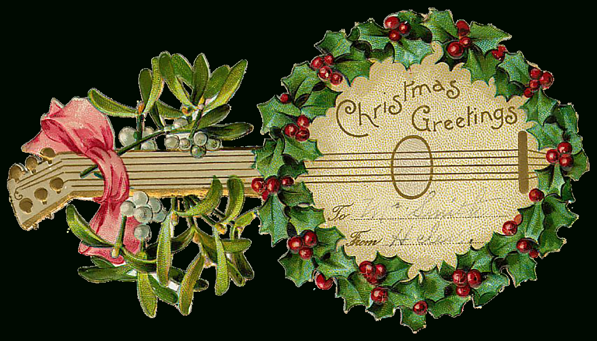 Free Vintage Christmas Banner Free Library - Rr Collections - Free Printable Vintage Christmas Clip Art