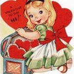 Free Vintage Image ~ A Valentine To Say Hi!   Old Design Shop Blog   Free Printable Vintage Valentine Pictures