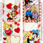 Free Vintage Printables   Vintage Kids Valentines   Free Printable   Free Printable Vintage Valentine Pictures