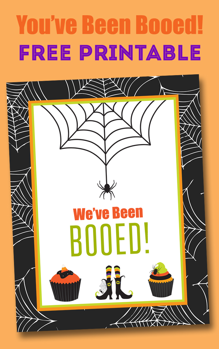 Free You've Been Booed Printable - Neighborhood Boo Tradition | Lil - You Ve Been Booed Free Printable