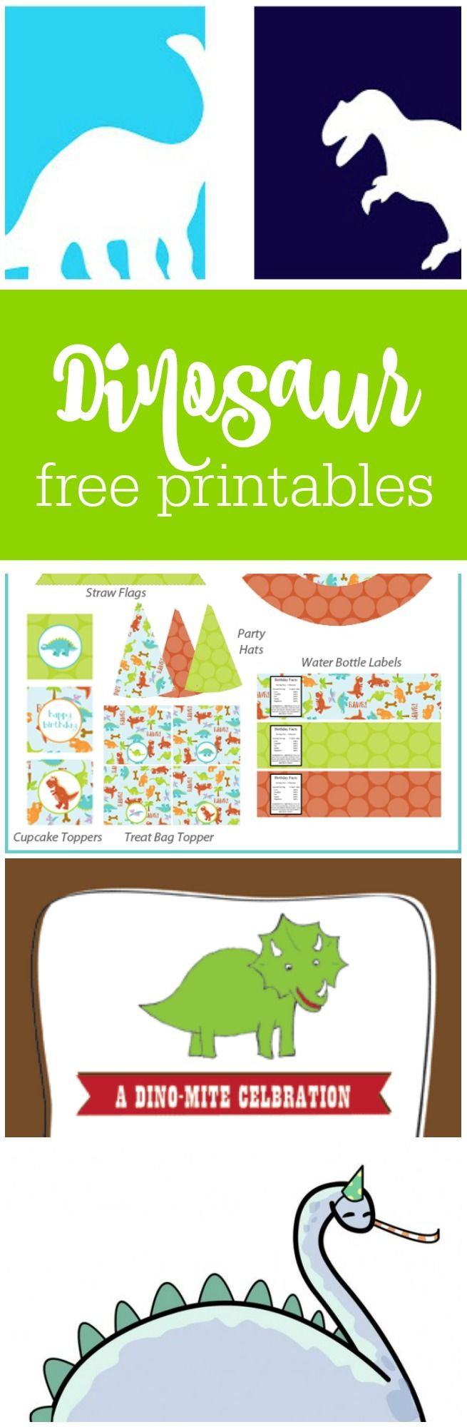Freebie Friday: Free Dinosaur Party Printables | Baby Ninjas Bday - Free Printable Dinosaur Labels