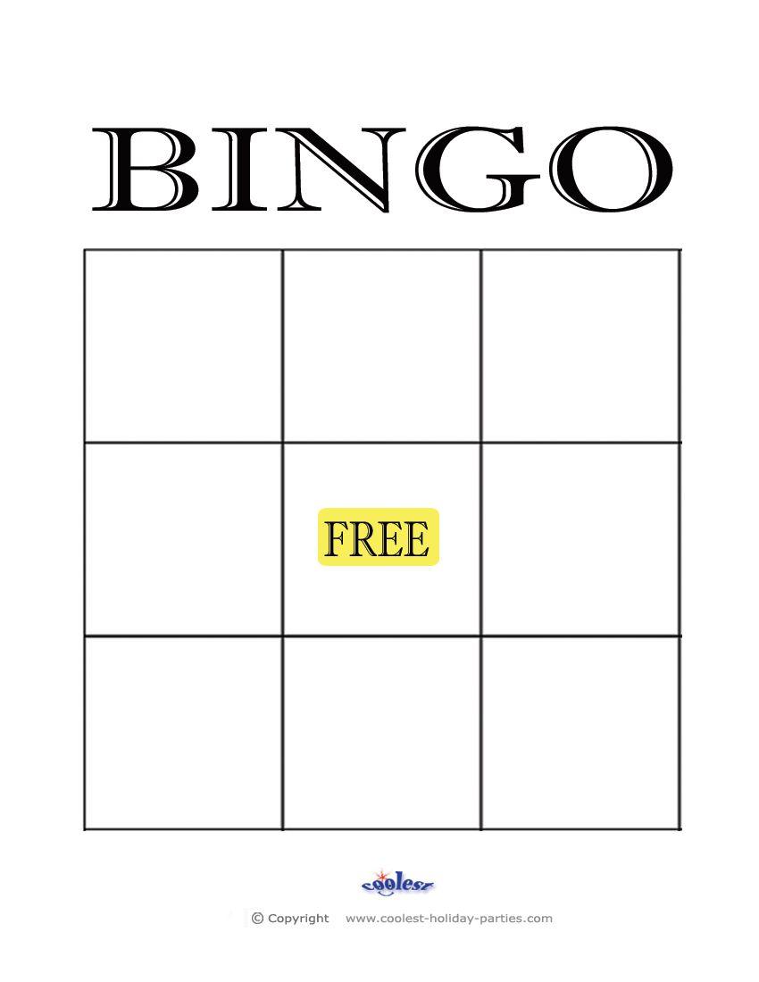 Free+Printable+Blank+Bingo+Cards+Template   Kidsrock - Free Printable Blank Bingo Cards
