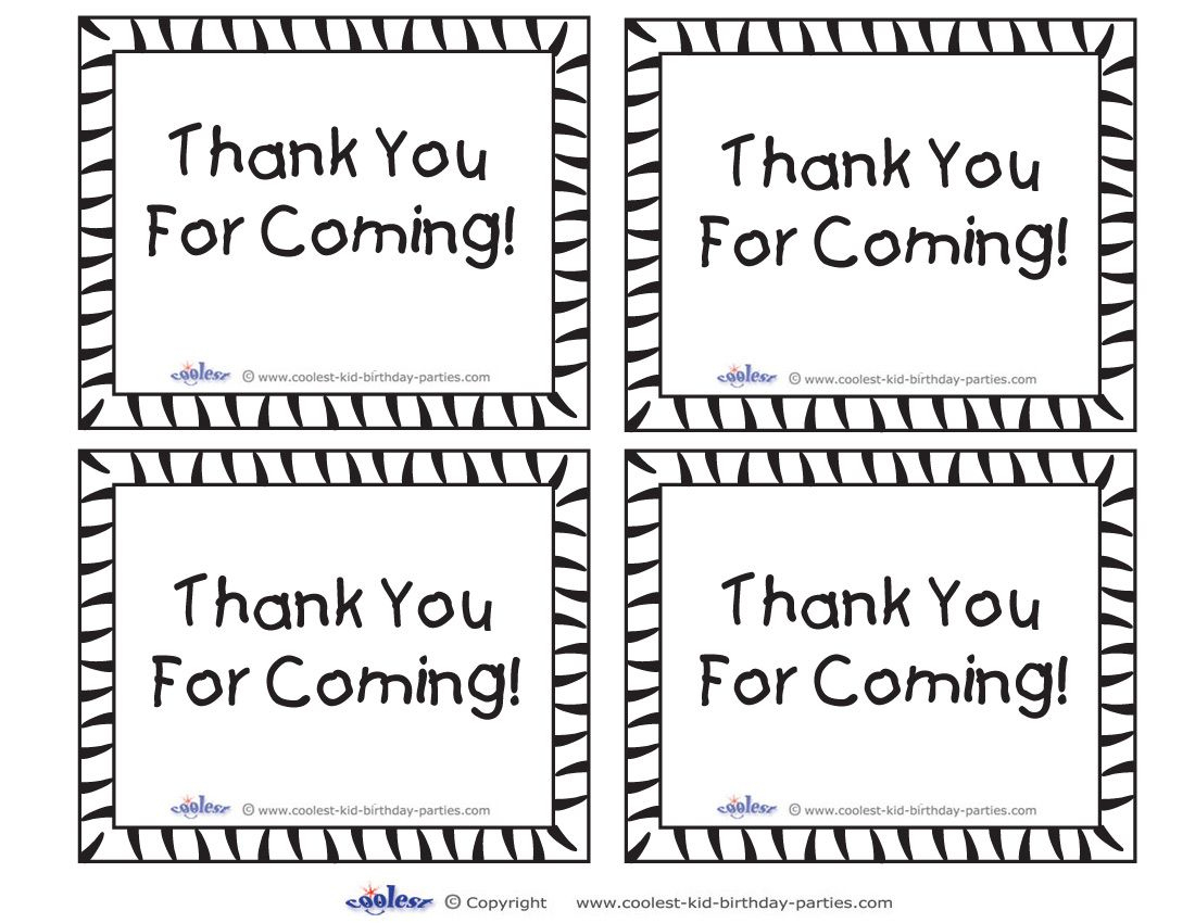 Free+Printable+Tags+Thank+You+Cards | Tags | Pinterest | Free - Thank You For Coming Free Printable Tags