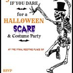 Fresh Halloween Party Invitation Templates Free For Your Invitations   Halloween Invitations Free Printable Black And White