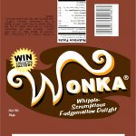 Full Size Candy Bar Wrapper Template Fresh Fein Wonka Bar Wrapper   Free Printable Wonka Bar Wrapper Template