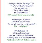Funny Pastor Appreciation Poems | Pastor | Pastor Appreciation Day   Pastor Appreciation Cards Free Printable