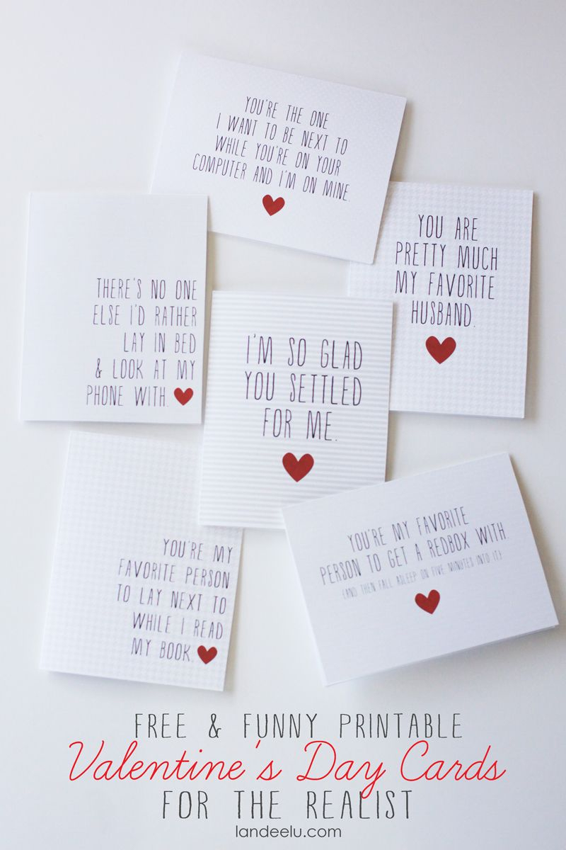 Funny Printable Valentine's Day Cards | Valentines Day | Pinterest - Free Printable Valentine Cards For Husband