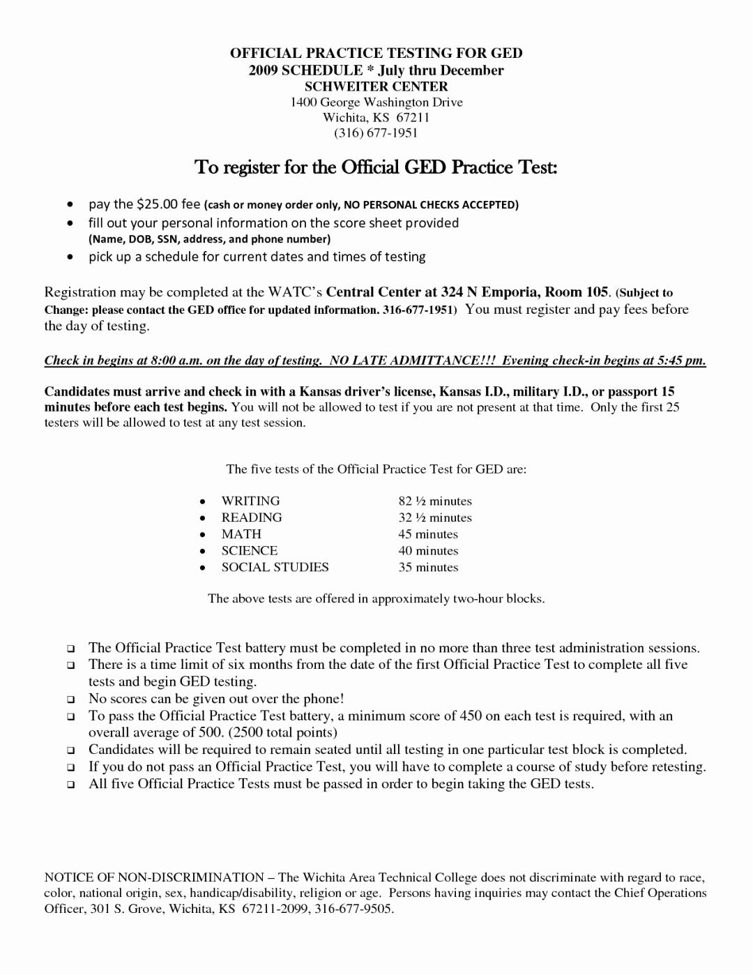Ged Math Practice Worksheets Elegant Math Worksheets Free Printable - Free Printable Ged Study Guide 2016