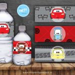 Get Your Engines Started For Your Little Racer's Special Day With   Free Printable Disney Cars Water Bottle Labels