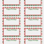 Gift Tag Label Template Luxury Of Name Free Printable Templates   Free Printable Blank Gift Tags