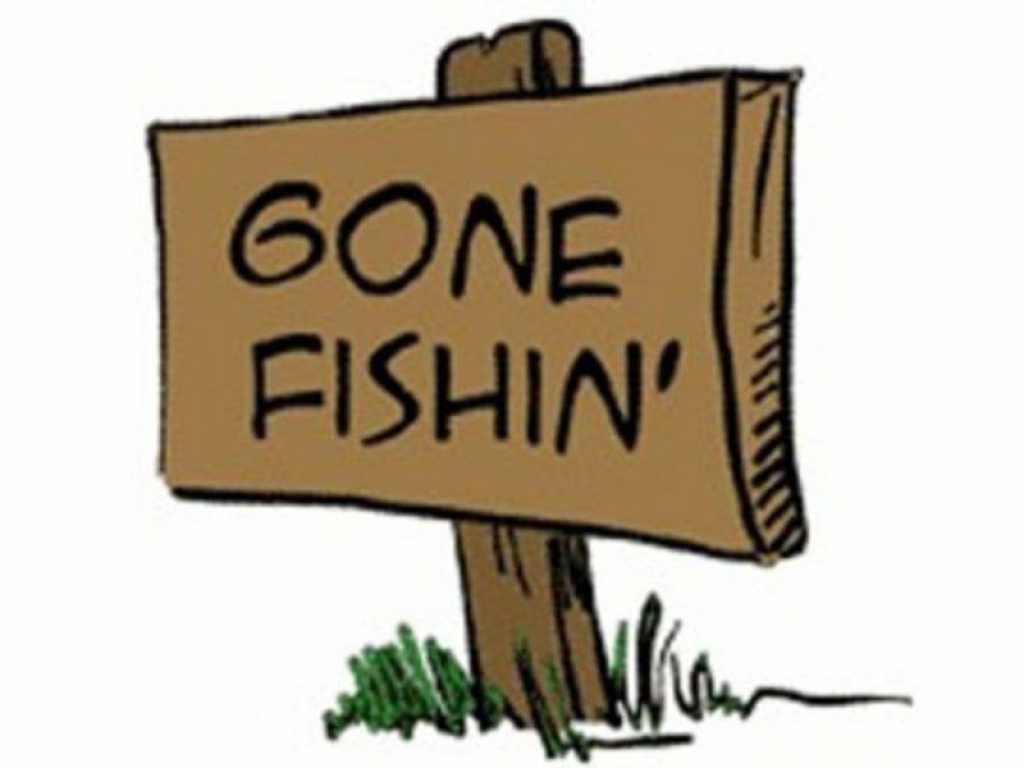 Gone Fishin' | Saved | Pinterest | Fishing Signs, Fish And Clip Art - Free Printable Gone Fishing Sign