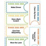 Good Deed Coupon Book Printables | Nothing But Printables   Create Your Own Coupon Free Printable