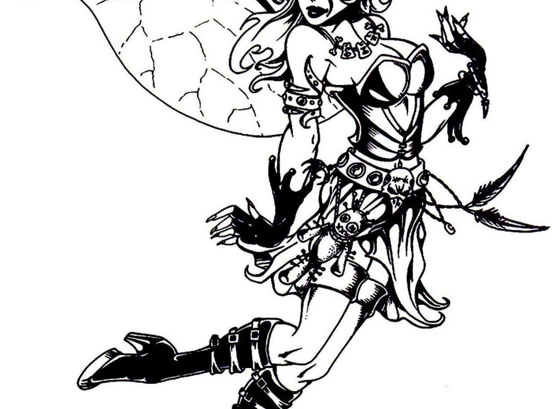 Gothic Coloring Pages For Adults Bing Images Stencilscoloring - Free Printable Coloring Pages For Adults Dark Fairies