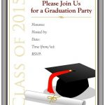 Grad Invite Templates Unique Free Printable Graduation Party   Free Printable Graduation Party Invitations