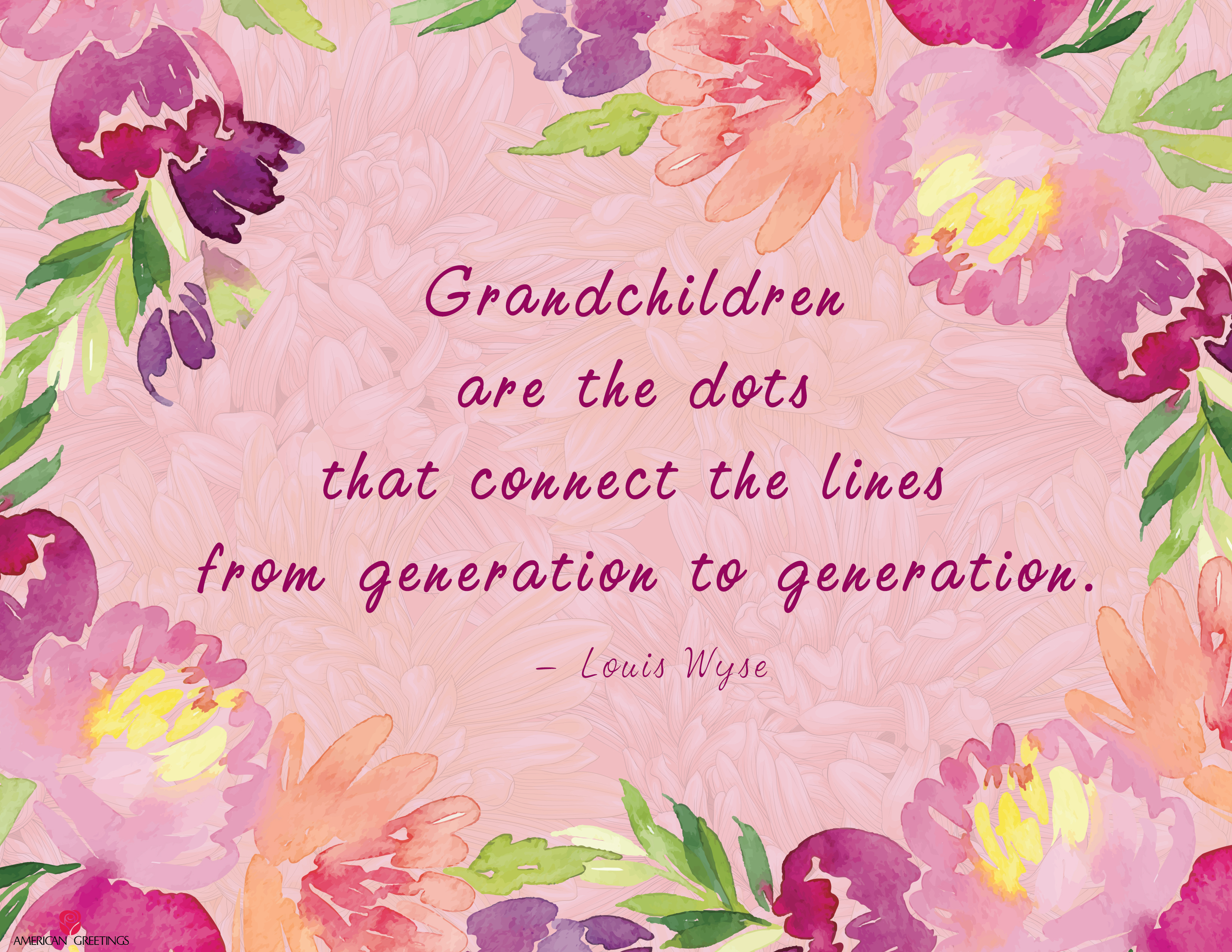 Grandparents Day Free Printable Quote - American Greetings Blog - Free Printable Easter Cards For Grandchildren