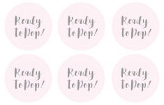 Ready To Pop Free Printable
