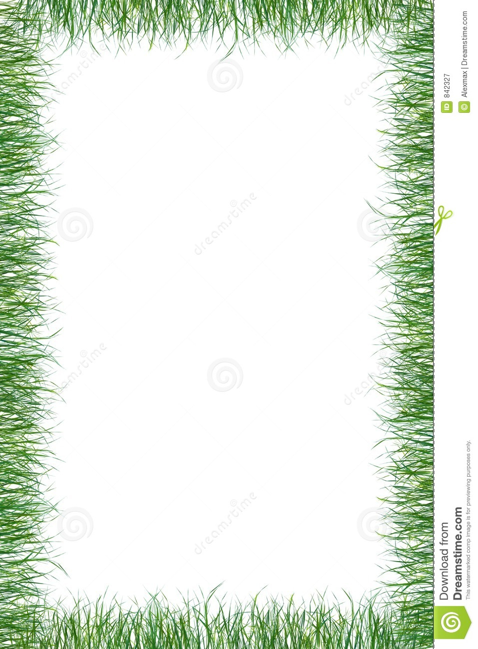 Green Grass Paper Summer Background Stock Illustration - Free Printable Summer Borders