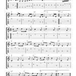 Guitar Music Sheets For Beginners | Free Guitar Tab Sheet Music   Free Guitar Sheet Music For Popular Songs Printable