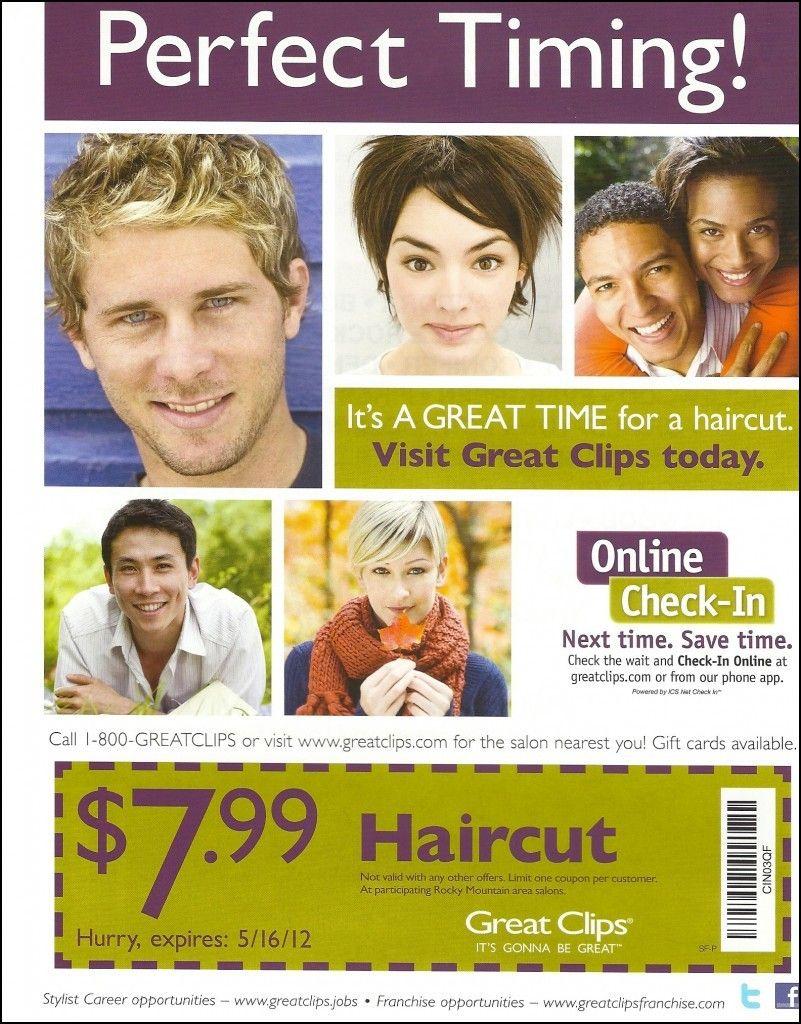 Haircut Coupons Utah | Gary -N- Sonya | Great Clips Coupons, Haircut - Great Clips Free Coupons Printable