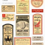 Halloween Love: Spooky Apothecary Labels Free Printable In 2019   Free Printable Halloween Labels