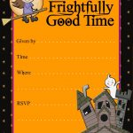 Halloween Party Invitations | Halloween Party Invitation Templates   Free Halloween Birthday Invitation Templates Printable