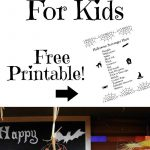 Halloween Scavenger Hunt For Kids (Free Printable) | Party   Free Printable Halloween Scavenger Hunt