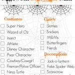 Halloween Scavenger Hunt  Free Printable | Therusticwillow   Free Printable Halloween Scavenger Hunt