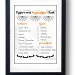 Halloween Scavenger Hunt With Free Printable   Free Printable Halloween Scavenger Hunt