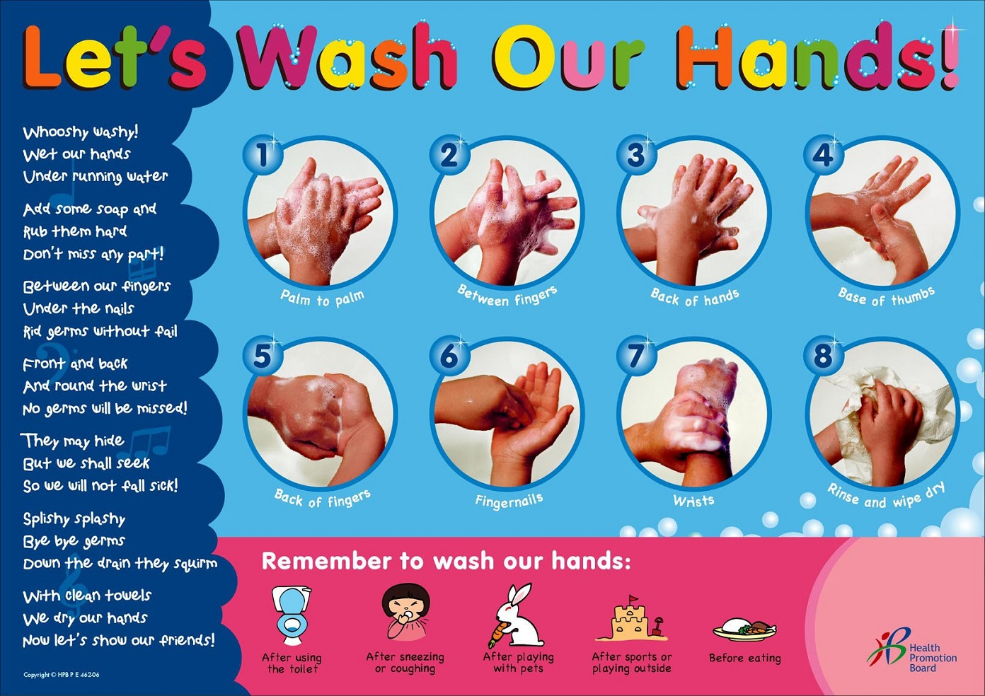 Hand Washing Posters Collection | Personal Hygiene - Free Printable Hand Washing Posters