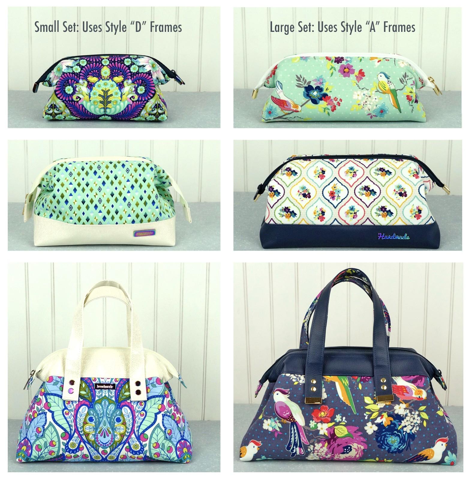 Handbag Patterns Free Printable New Emmaline Bags Sewing Patterns - Handbag Patterns Free Printable