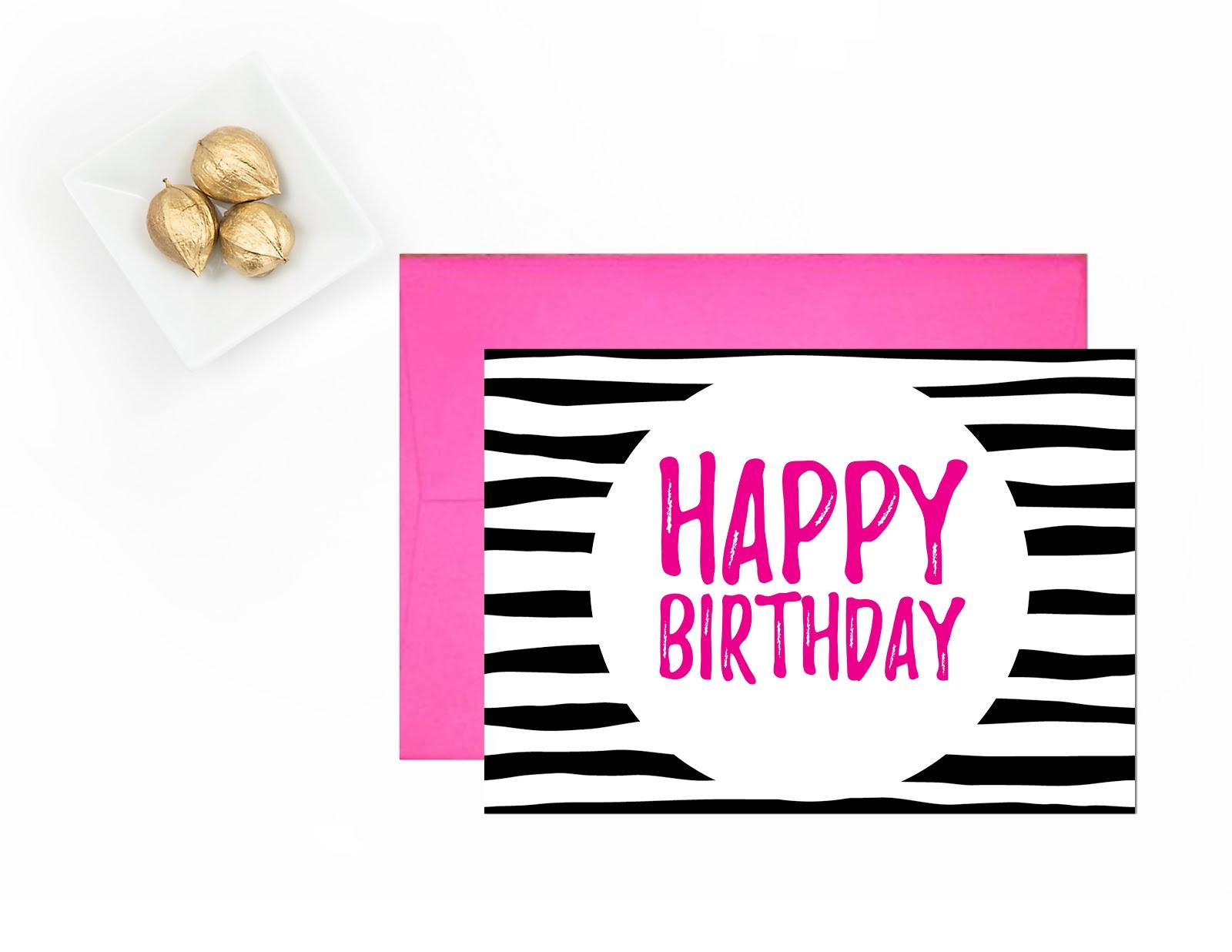 Happy Birthday   Free Printable Greeting Cards - Andree In Wonderland - Free Printable Bday Cards