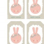 Happy Easter Free Printable Bunny Tags | Cute Printables | Pinterest   Free Printable Easter Tags