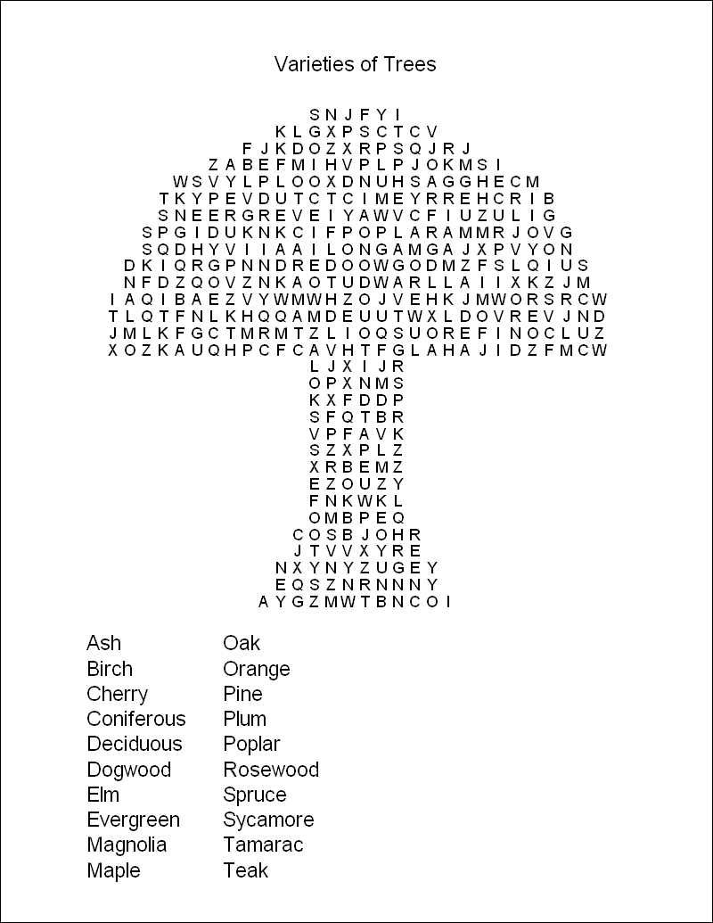 Hard Printable Word Searches For Adults | Free Printable Word Search - Free Printable Puzzles For Kids