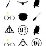 Harry Potter Baby Shower Ideas & Free Printables | Harry Potter   Free Printable Harry Potter Clip Art
