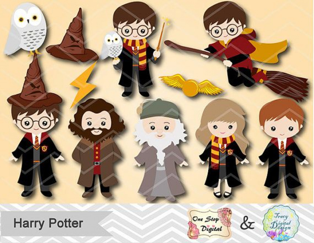 Harry Potter Clip Art To Free Download | Jokingart Harry Potter With - Free Printable Harry Potter Clip Art