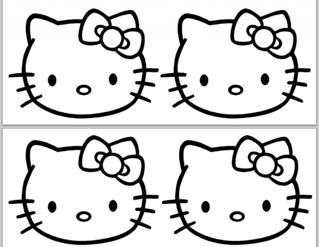 Hello Kitty Birthday Card Printable Free | Free Printable - Hello Kitty Birthday Card Printable Free