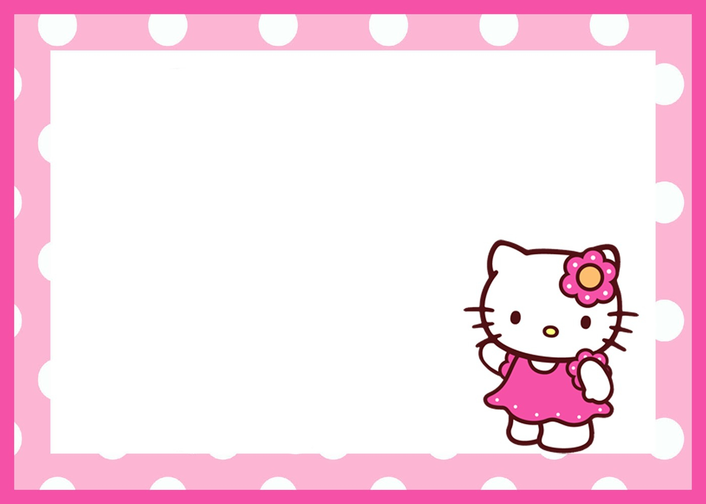 Hello Kitty Birthday Invitations Free — Birthday Invitation Examples - Hello Kitty Birthday Card Printable Free