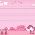 Hello Kitty Printable Stationary | Scrapbook | Pinterest | Hello   Free Printable Hello Kitty Stationery