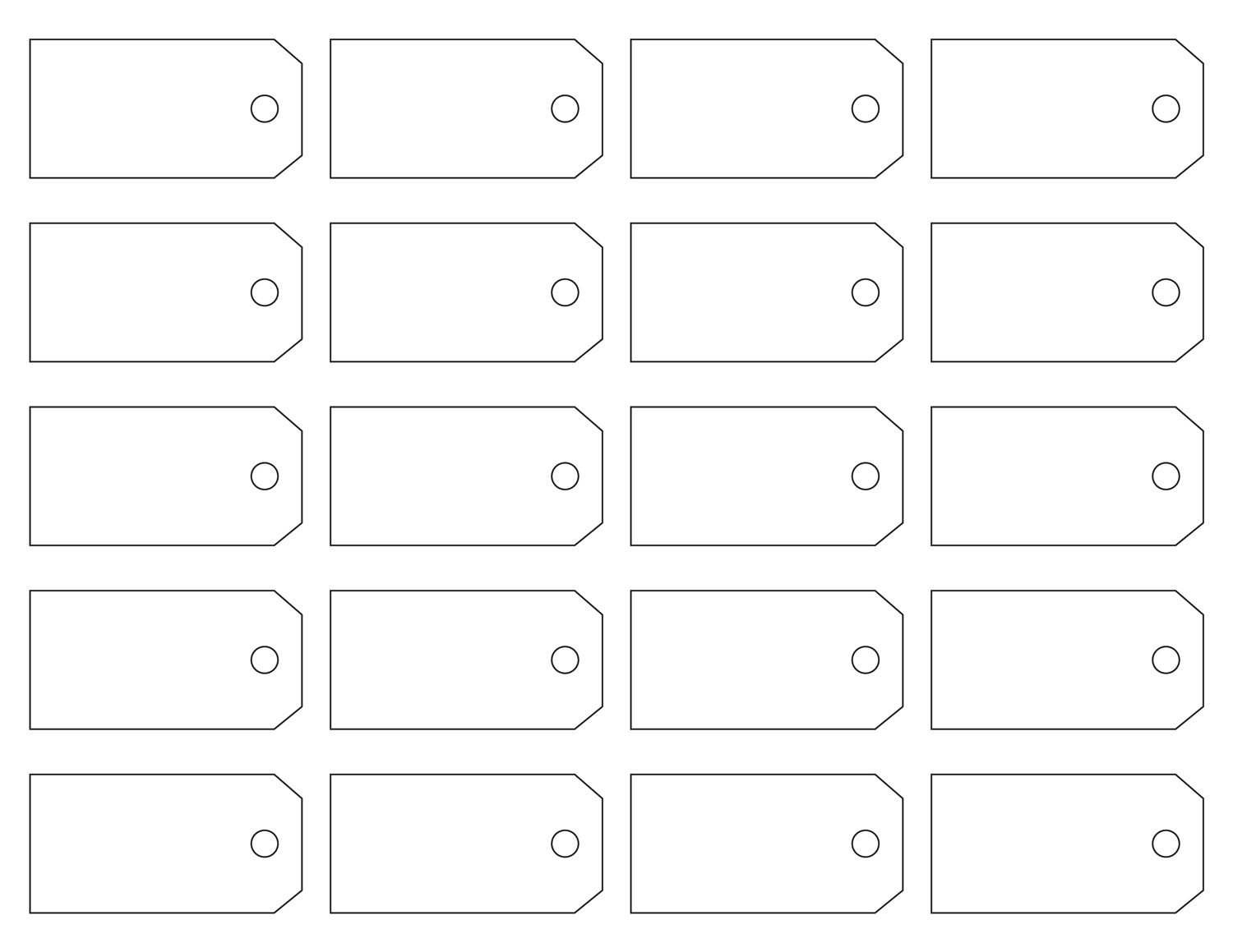 Here Are Some Great Free Address Label Templates That Everyone Would - Garage Sale Price Tags Free Printable