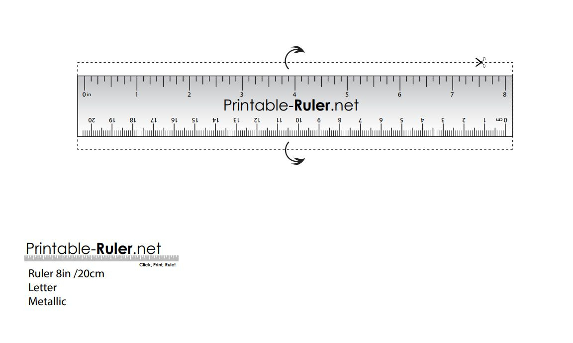 Here Are Some Printable Rulers When You Need One Fast - Free Printable Cm Ruler